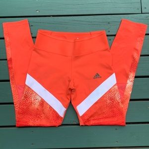 ADIDAS Coral Ultimate Climalite Athletic Tights